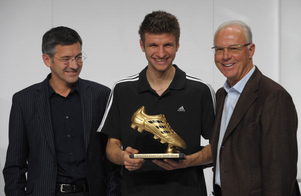 Thomas Muller golden boot