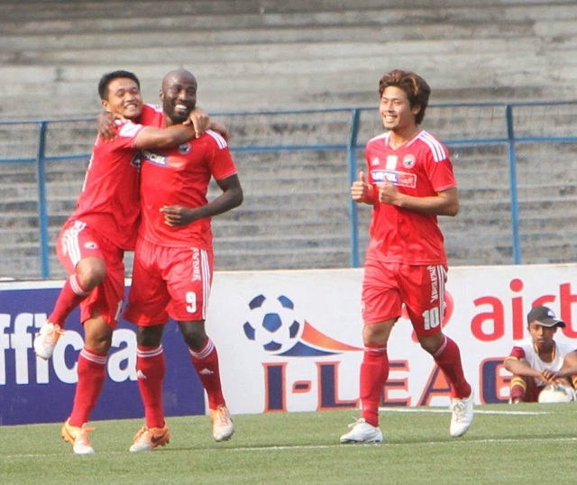 Glen scored a hattrick against Mohammedan Sporting