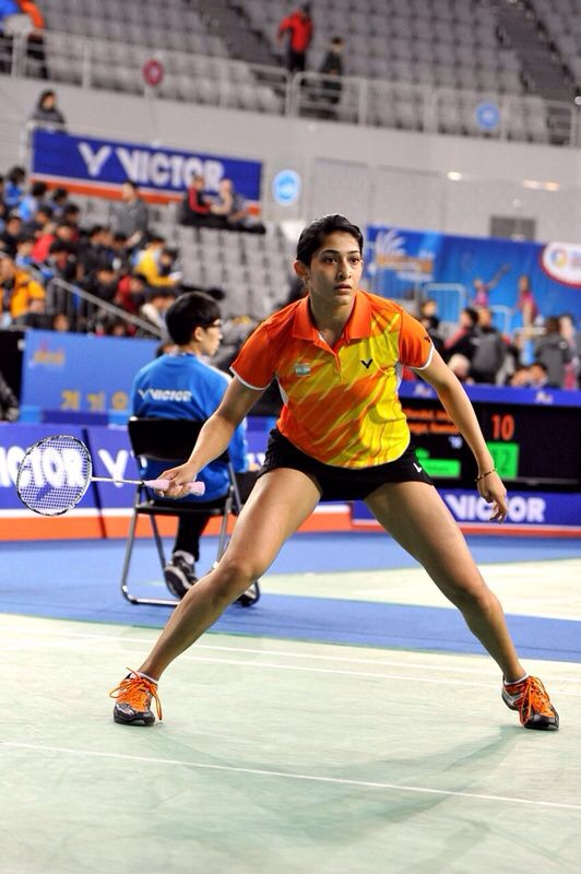 Ashwini in action
