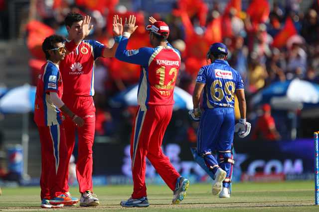 Royal Challengers Bangalore vs Rajasthan Royals
