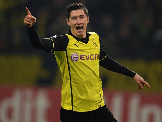 Lewandowski will be playing his last game at Signal Iduna Park as a Dortmund player, this weekend