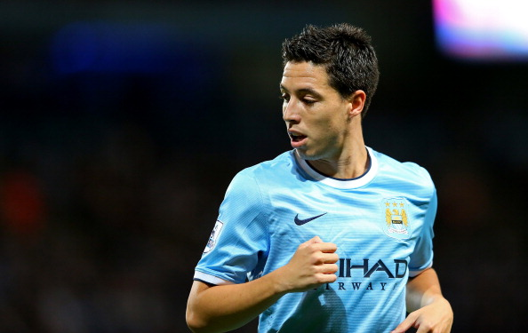 Samir Nasri had played a crucial role in Manchester City's title winning campaign