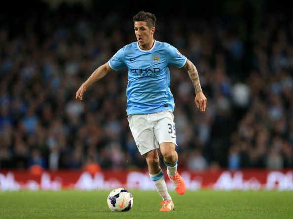 Jovetic had an injury hit maiden season at Manchester City