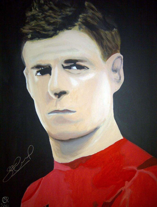 Steven Gerrard portrait