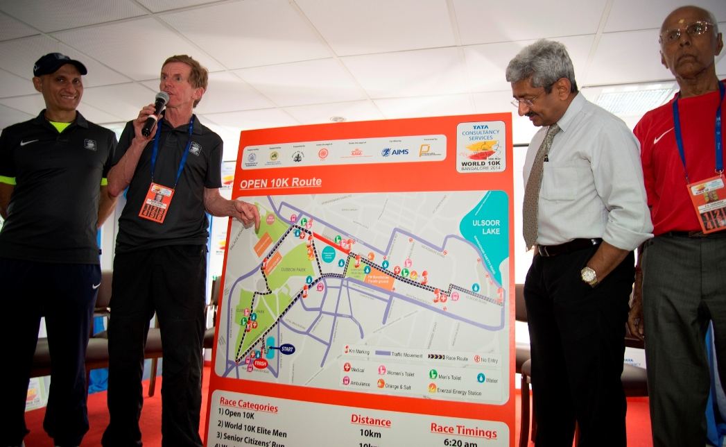 TCS World 10K Bangalore Route unvealing pic-1