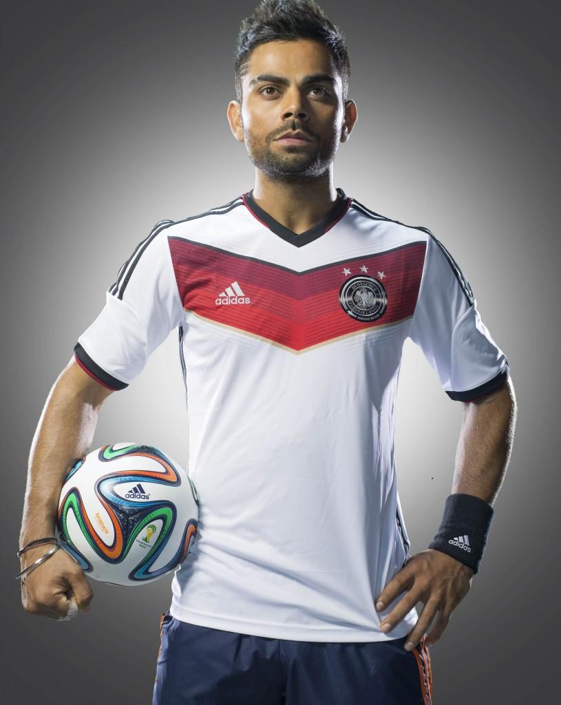 Meet adidas athlete and football fan- Virat Kohli