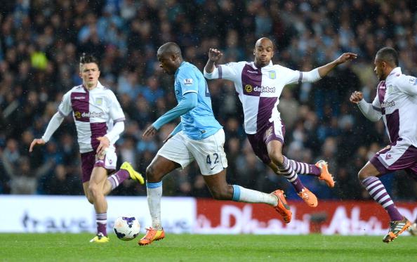 Manchester City Yaya Toure goal