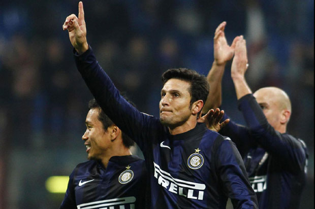 Javier Zanetti is one of the most decorated players in the history of Inter Milan