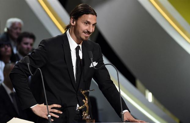 Zlatan Ibrahimovic wins French Player of the Year