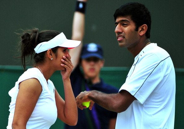 Sania Mirza and Rohan Bopanna