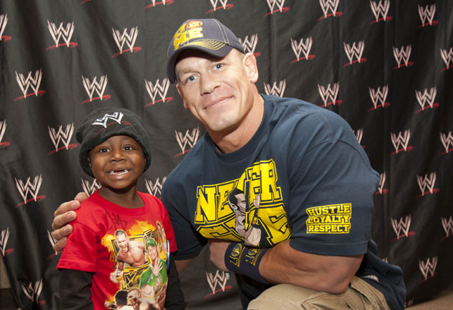 Wwe john cena always happy to meet charitable people m4hsunfo