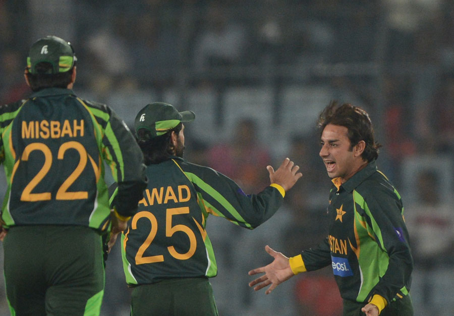 best bowling performances of Saeed Ajmal