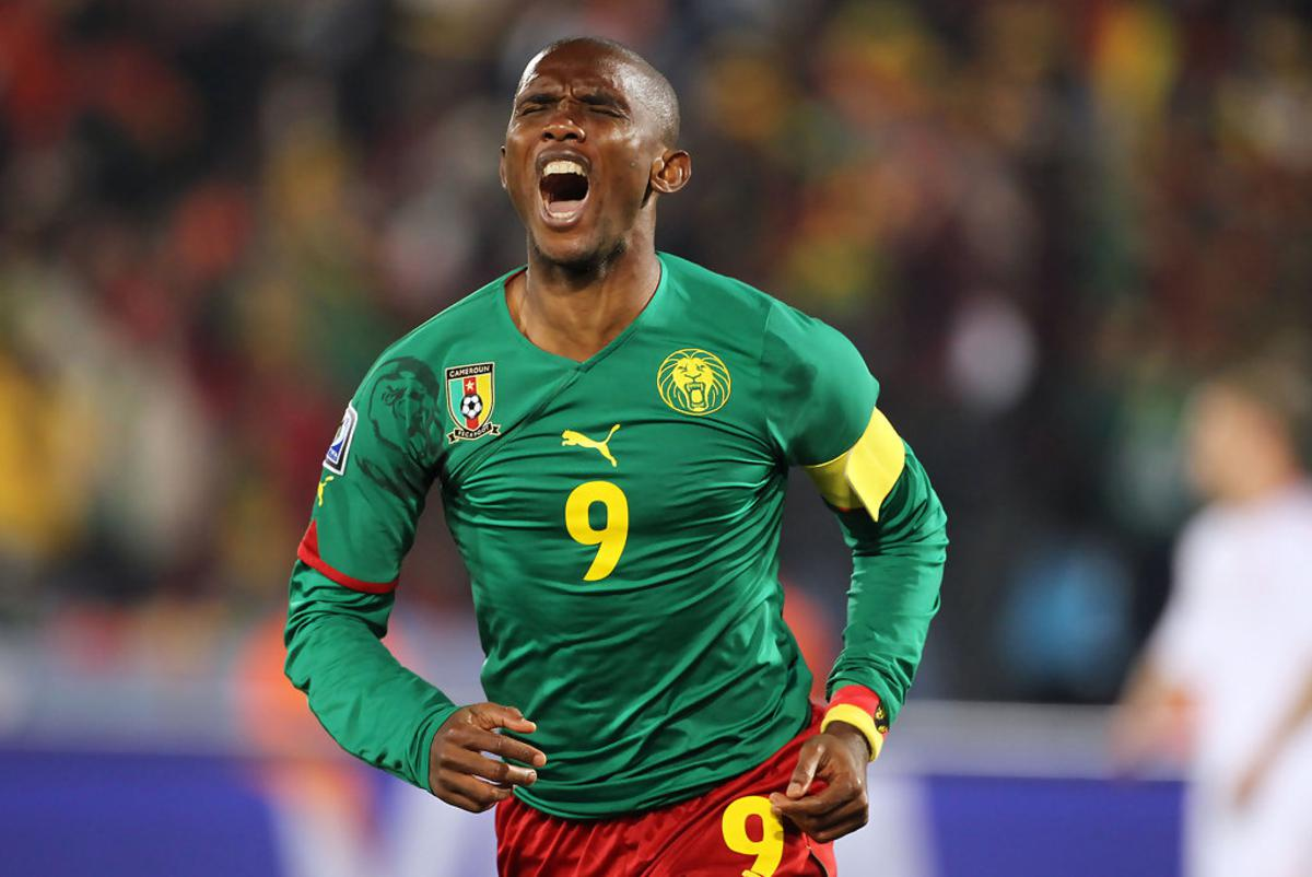 FIFA World cup 2014 Samuel Eto o out of Cameroon s World cup