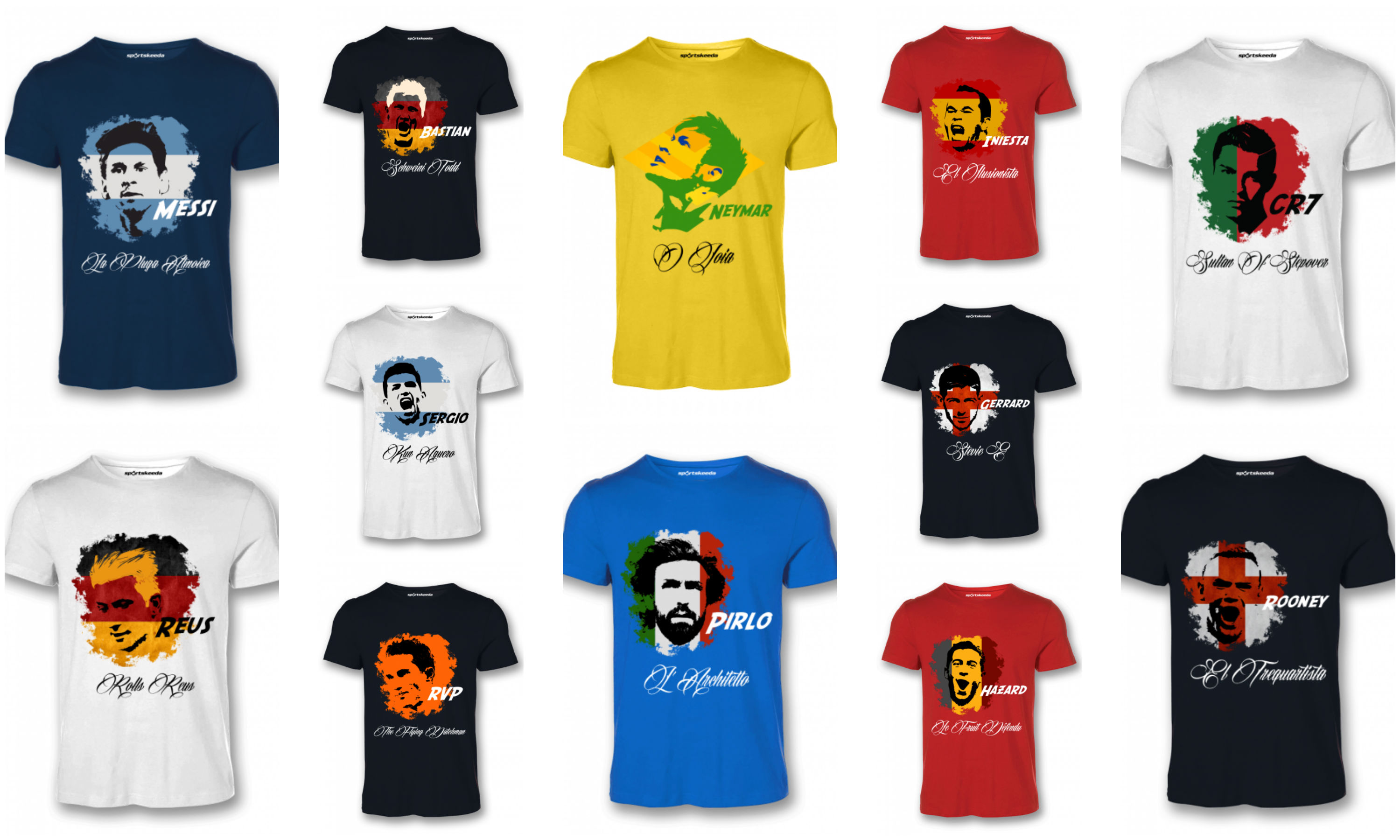 2176dee84 FIFA Brazil 2014 World Cup Tshirts and Jerseys online in India