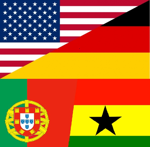 Fifa World Cup 2017 Usa Vs Germany And Portugal Ghana Live Tweets Goals Highlights