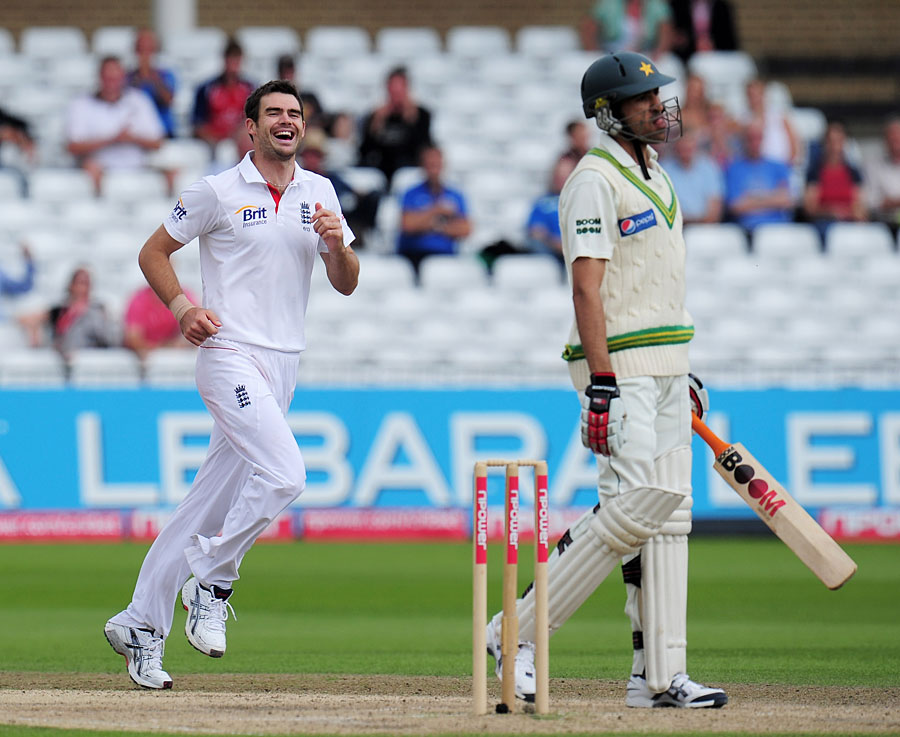 five best bowling perfromances of James Anderson