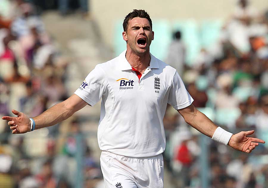 bets bowling performances of James Anderson