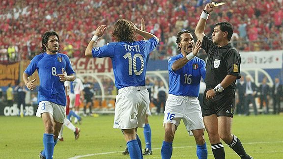 most controversial world cup games