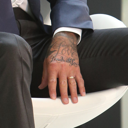 Page 2 19 David Beckham Tattoos And Their Significance