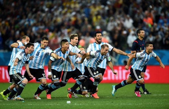 A Argentina garantiu o apuramento no ultimo jogo da qualificacao