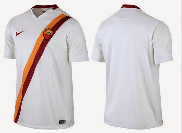 buy popular 2a23c de234 Nike and AS Roma unveil new away Kit for the 2014/15 season