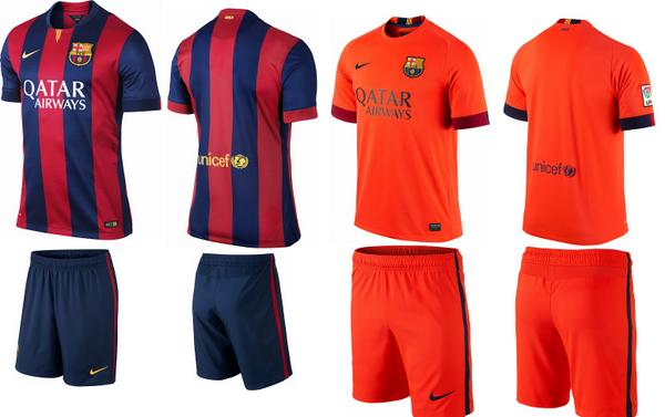 1dba288a87e Barcelona s 2014-15 official kit now available in India