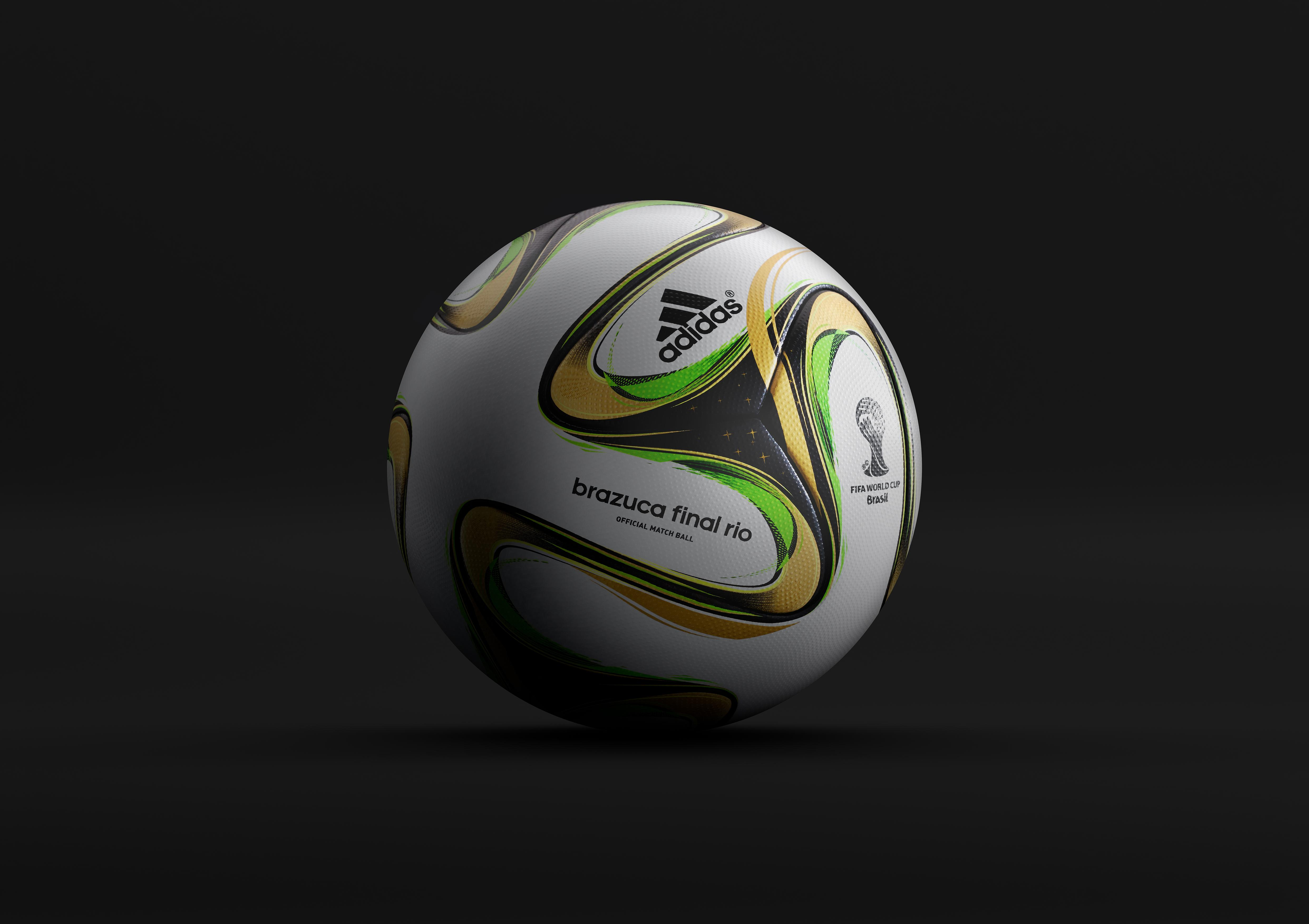 f1a56b547 adidas unveils Brazuca Final Rio: Official match ball for the final of the 2014  FIFA World Cup