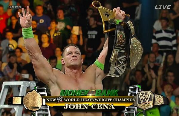 WWE Monday Night RAW: Live coverage and results - 30th ...John Cena Wwe Champion 2013 Champ Is Here