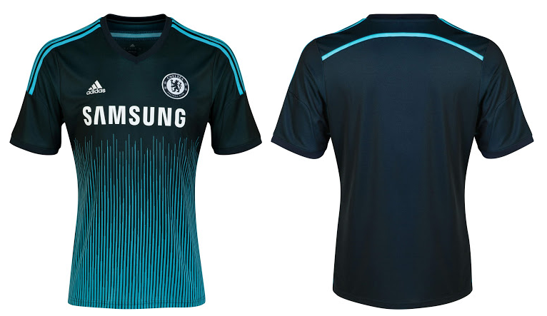 the best attitude f41be 1911f Adidas and Chelsea FC launch 2014/15 third kit