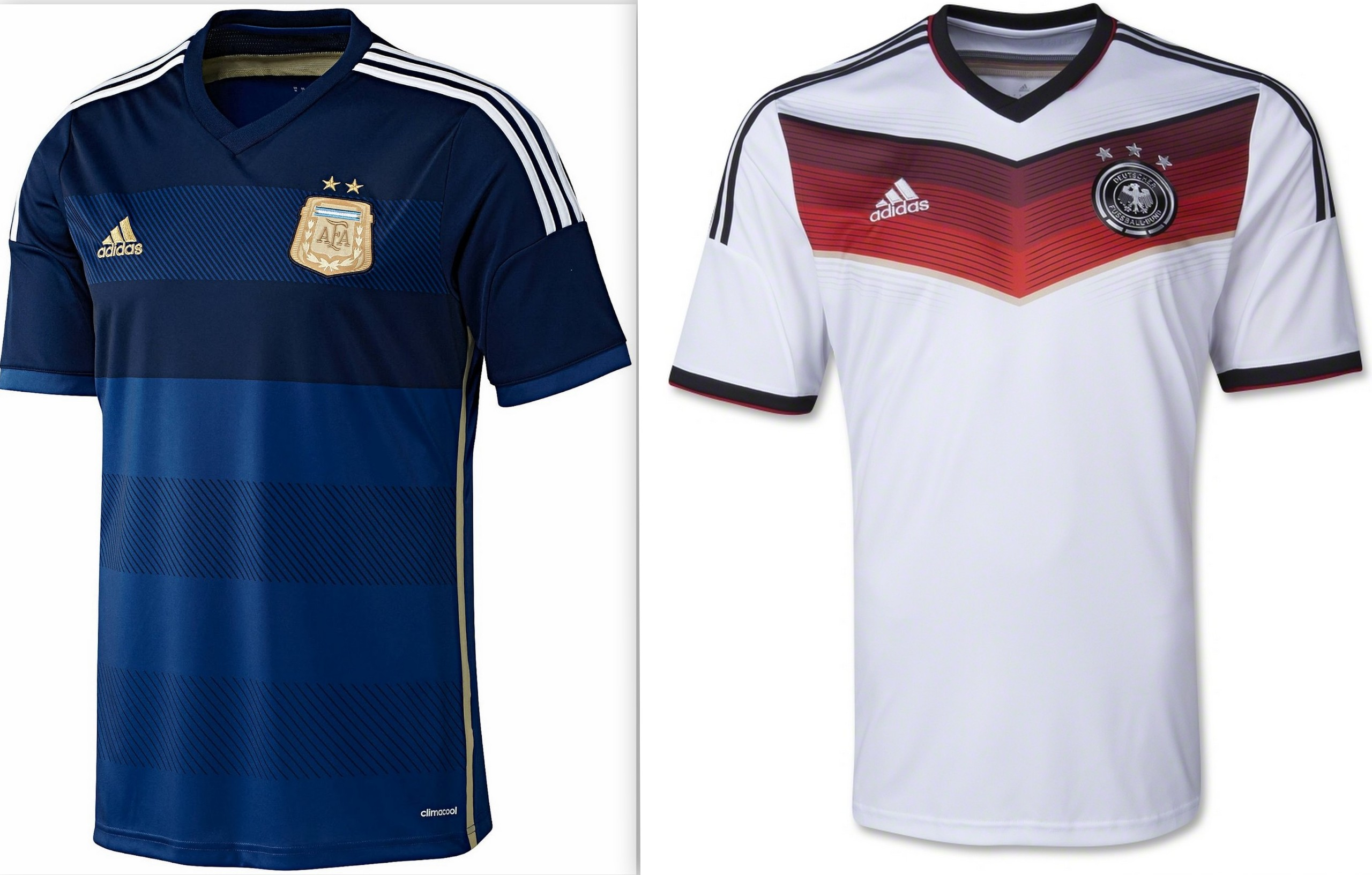 043b86671 FIFA World Cup 2014  Argentina to play for the first time in their away  blue in the finals