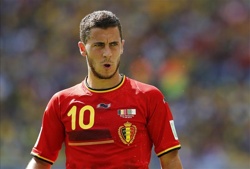 competitive price c5621 922c7 Chelsea star Eden Hazard laments Belgium's poor World Cup ...