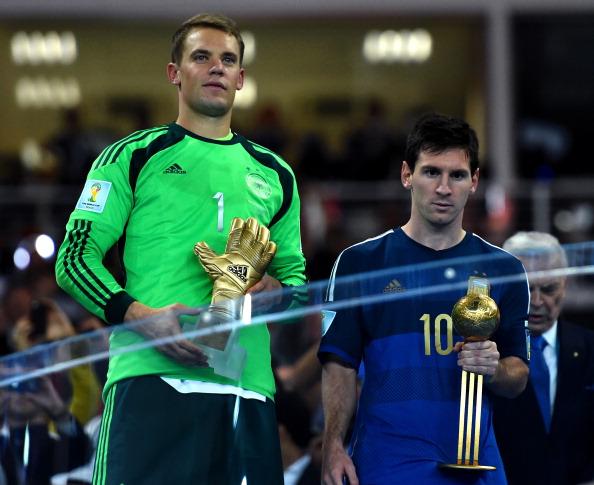 ce65fa8e7bf3 FIFA World Cup 2014: Messi wins Golden Ball, Rodriguez takes home ...