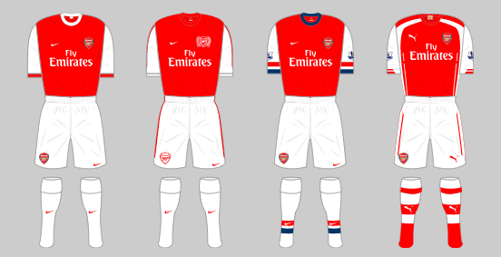 best loved 17909 ba395 Page 4 - Arsenal's kit evolution over the years