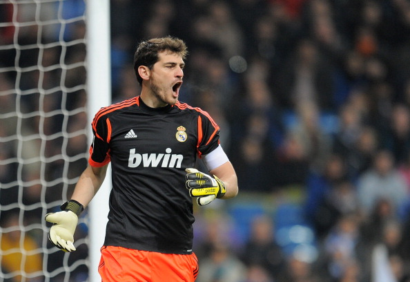 top saves of iker casillas