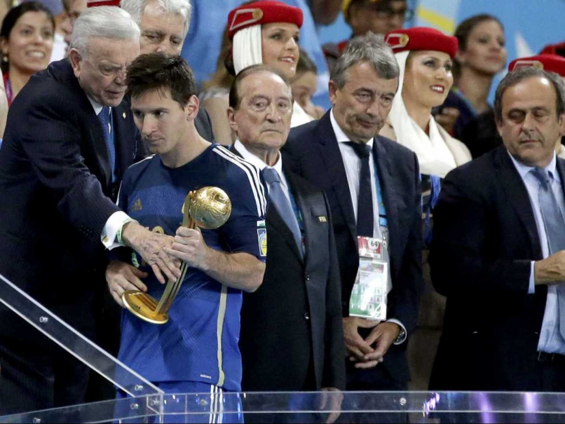 81d153f56326 Lionel Messi – The winner of Golden Ball at FIFA World Cup 2014