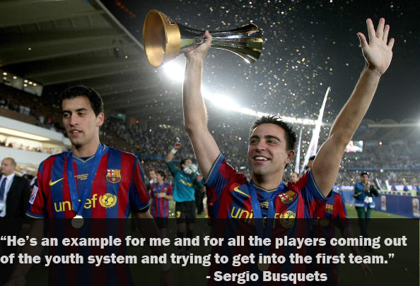 best quotes on xavi the pass master