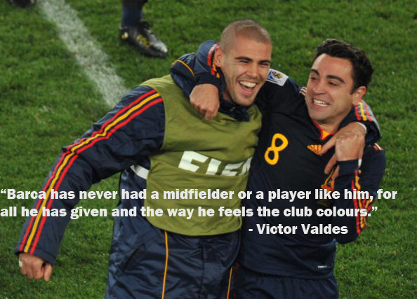 page best quotes on xavi the pass master