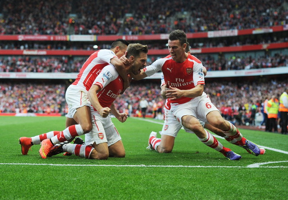 Aaron Ramsey Crystal Palace goal