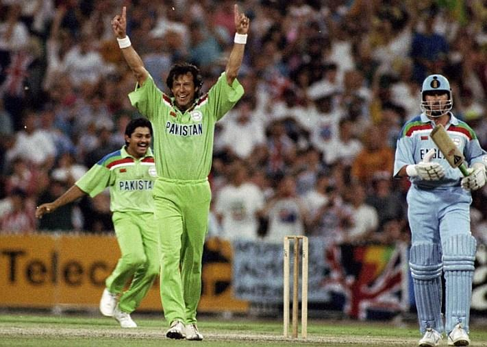 Imran Khan's debut in International cricket