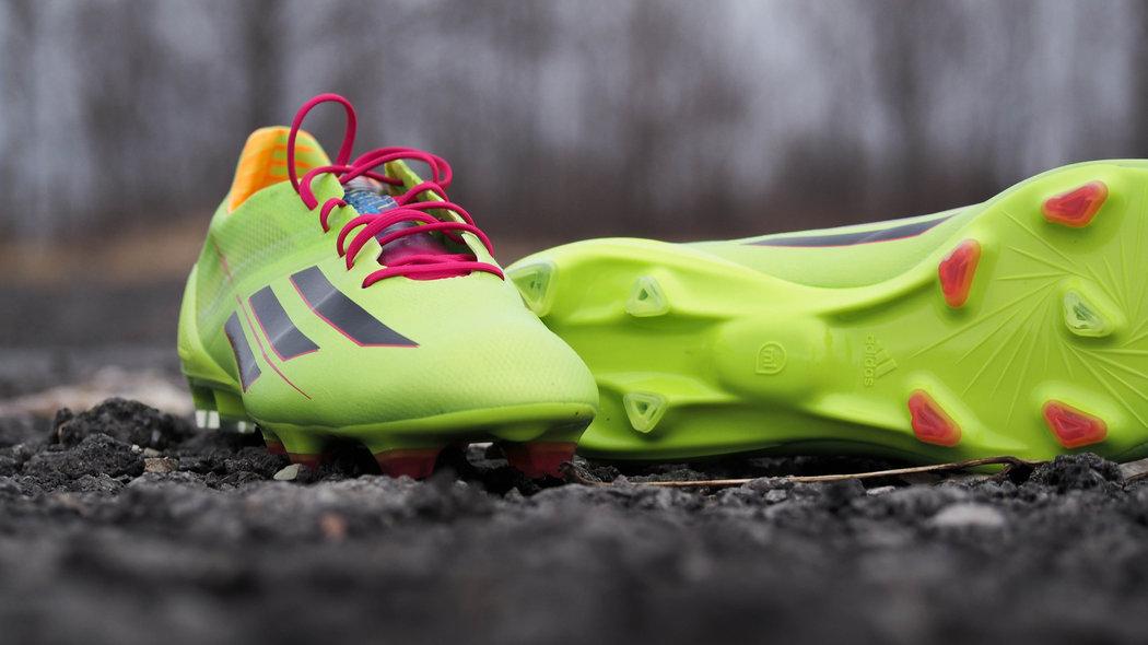adidas f50 adizero 2014 solar slime