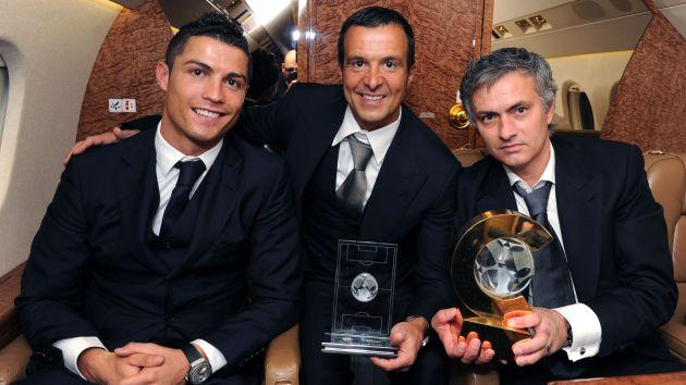Mendes also represents two-time Champions League-winning manager Jose Mourinho