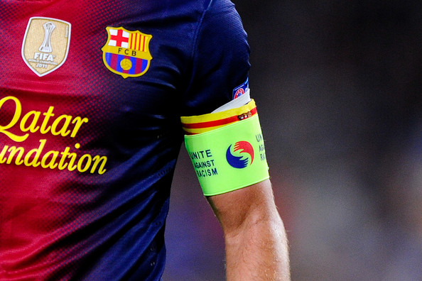 Barcelona name four captains for the 2014-15 season