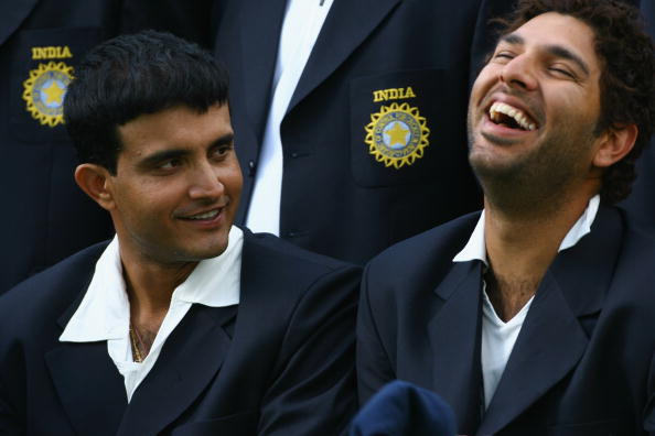 Sourav Ganguly ended up being pranked by Yuvraj Singh and co . in 2005