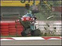 Roland Ratzenberger Crash