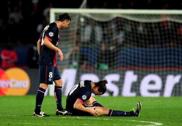 Zlatan Ibrahimovic to miss the Champions League match against Barcelona