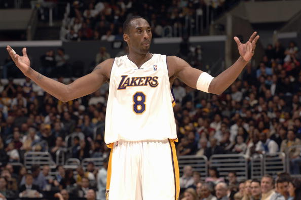 size 40 ca391 5f2d9 kobe bryant number 8 jersey white