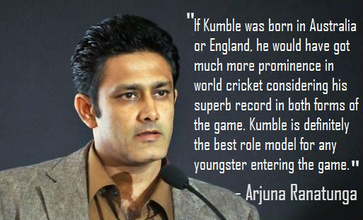 10 Famous Quotes By Former Cricketers On Anil Kumbles Retirement