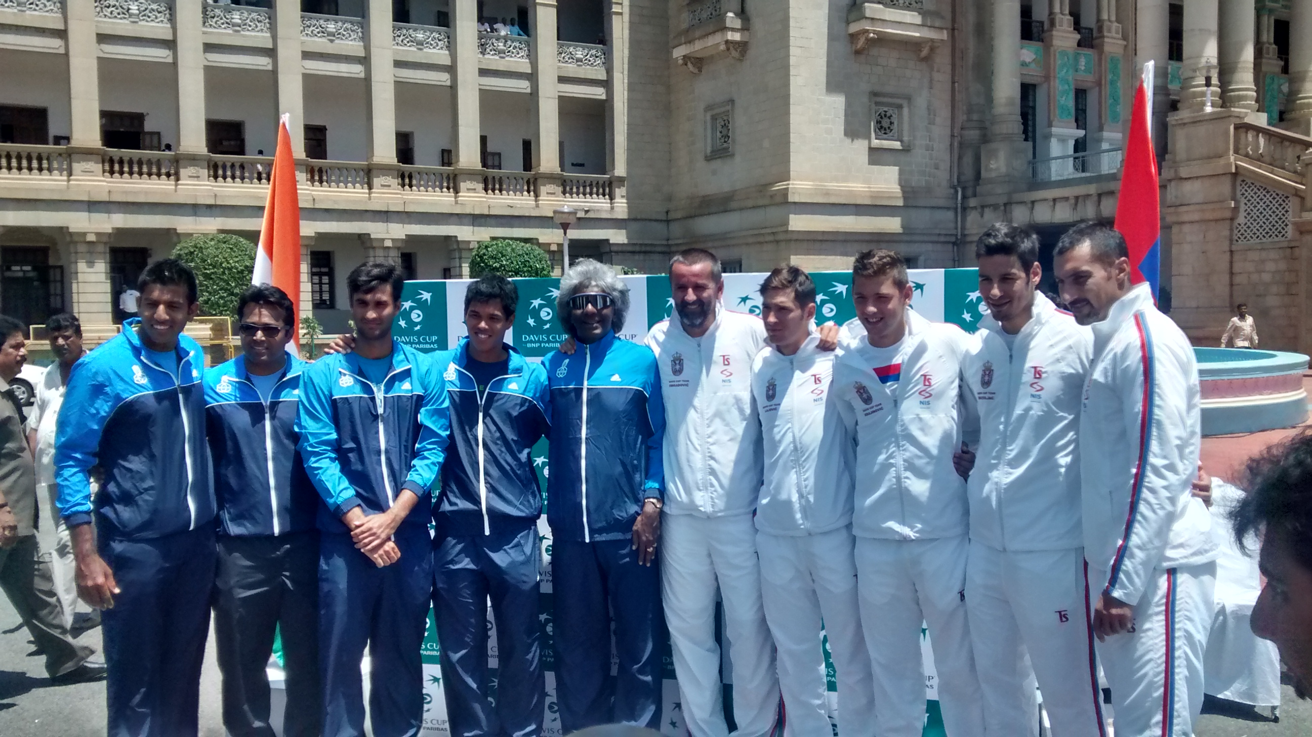 Draw Announced For The India Vs Serbia Davis Cup Tie