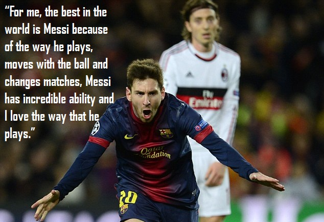 Top 10 Quotes On Lionel Messi