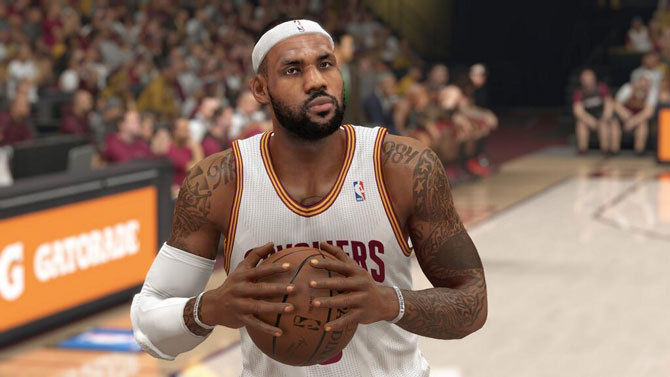 the latest 6a271 a9d85 NBA 2K15 player introductions - Cleveland Cavaliers